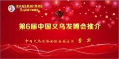 发传世界—第六届中国义乌发博会推介直播厅